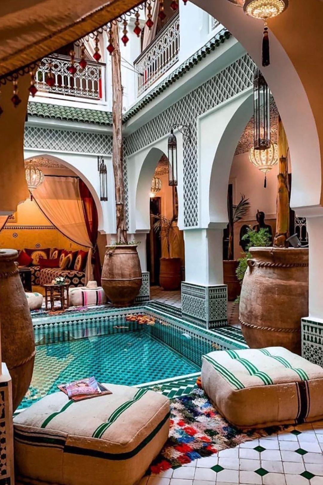 Pin By Salvador Espinoza Rodriguez On Luxury Home Morrocan House Patio Design Marrakech