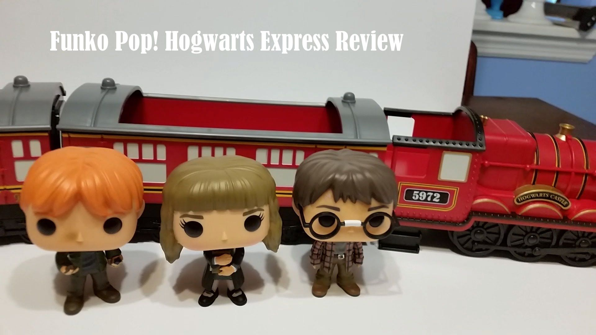 Funko Pop Harry Potter Hogwarts Express Train Full Set Review
