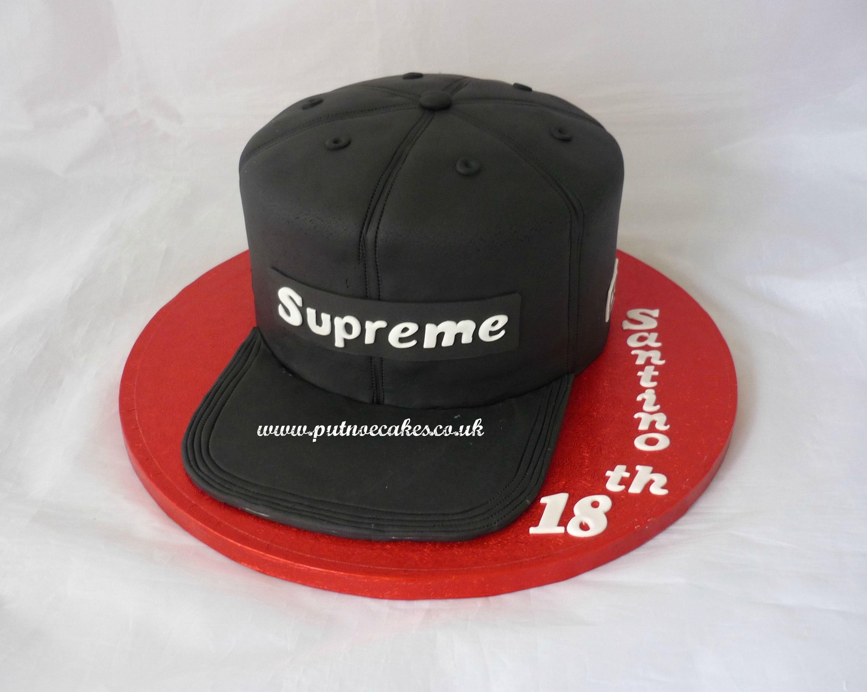 Supreme Baseball Cap Birthday Cake My Creations In 2019