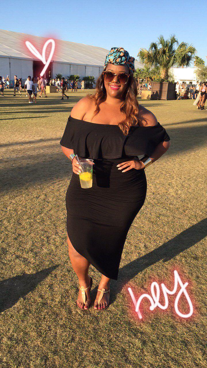 965167cb2da7 TrendyCurvy Travels: Coachella | Curvy Girls | Fashion, Plus size ...