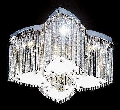 18W LED Kristall Deckenleuchte Leuchte Deckenlampe Lampe - lampen wohnzimmer led