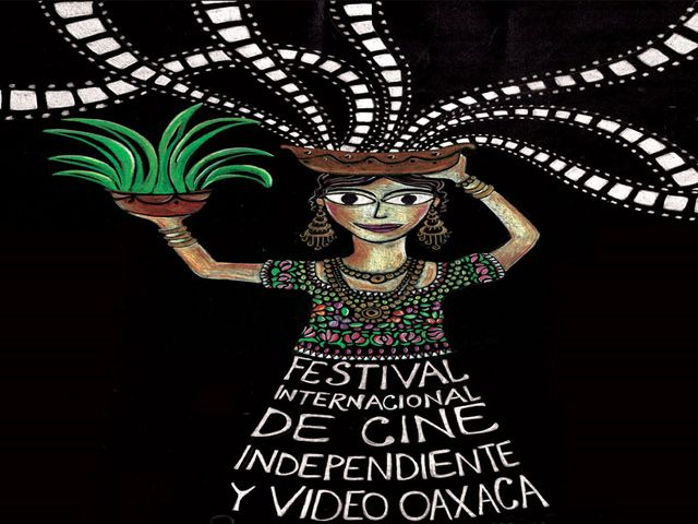 Festival Internacional de Cine Independiente y Video Oaxaca, detalle del cartel oficial