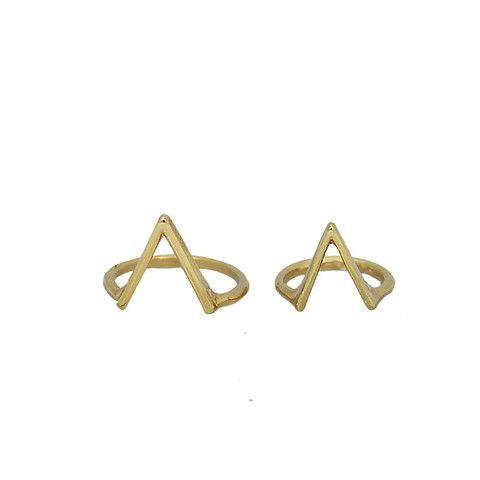 Conjunto de anéis fashion! Perfeito para compor o seu look!