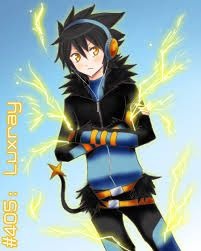 human- like luxray