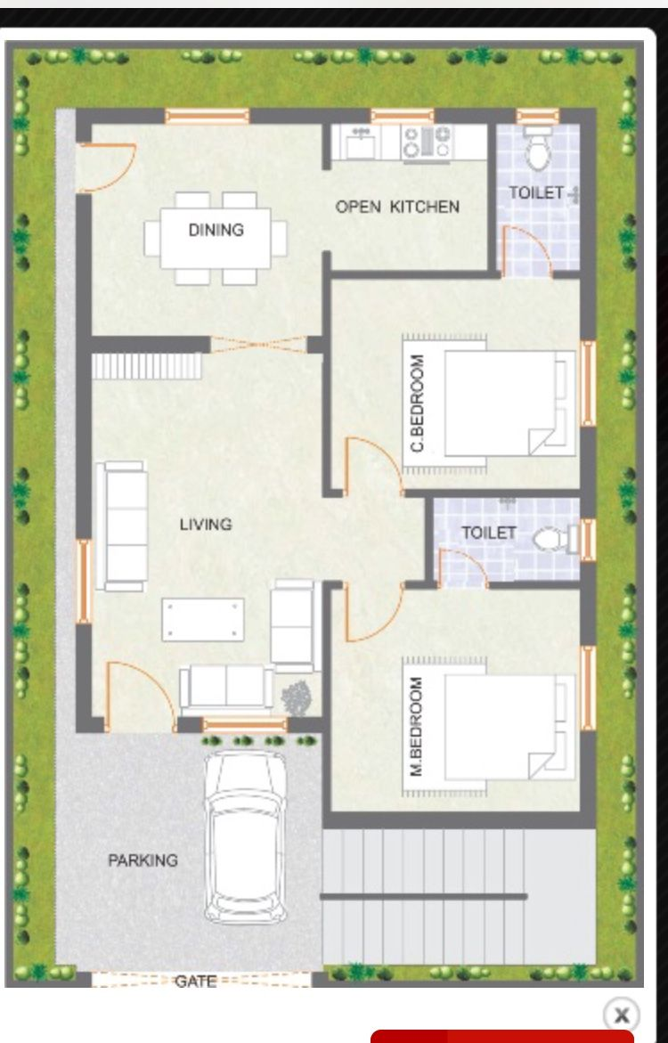 House layout plans layouts floor also sq ft in tamilnadu style rh pinterest