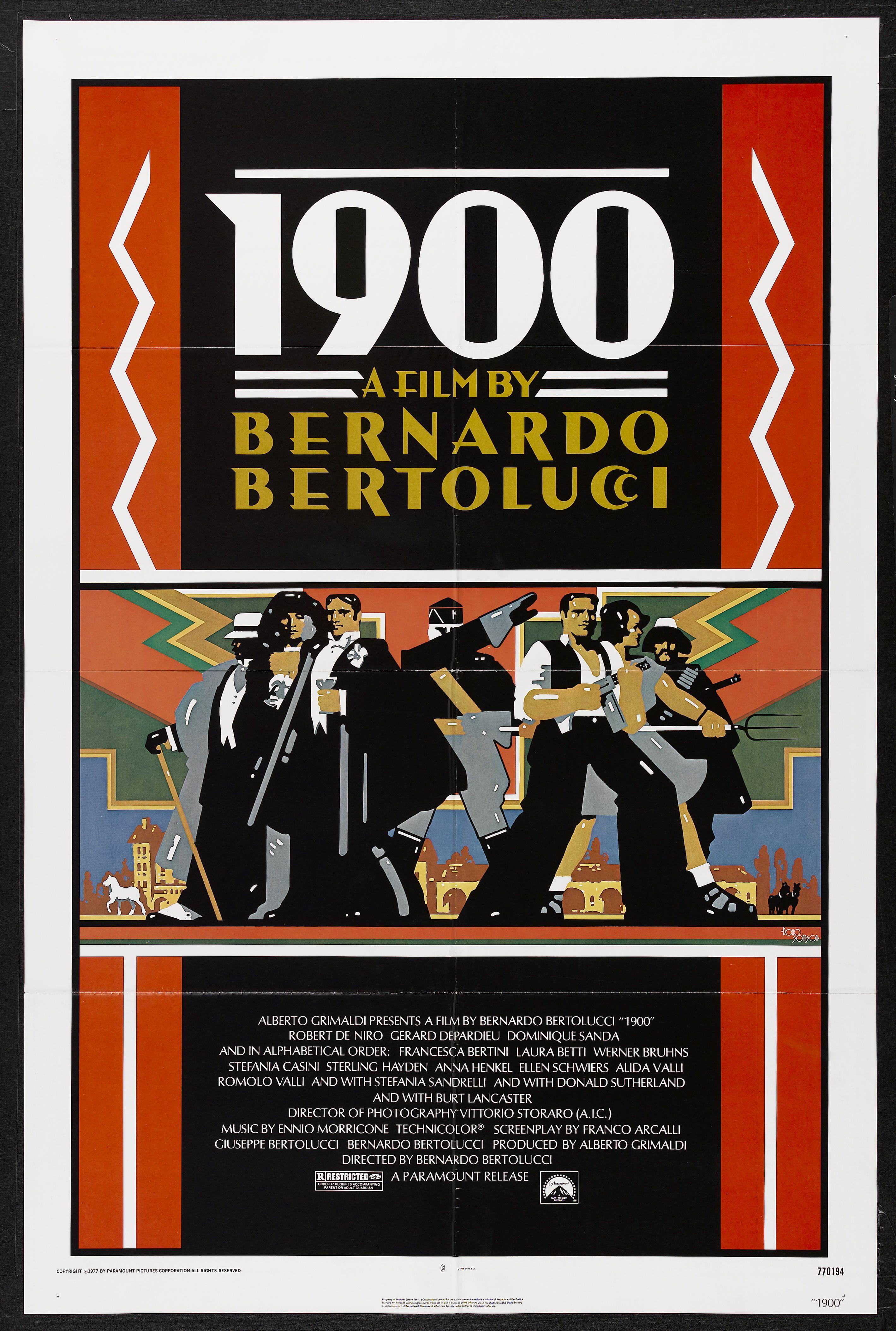 Novecento Bernardo Bertolucci 1976 Respiro Skinner