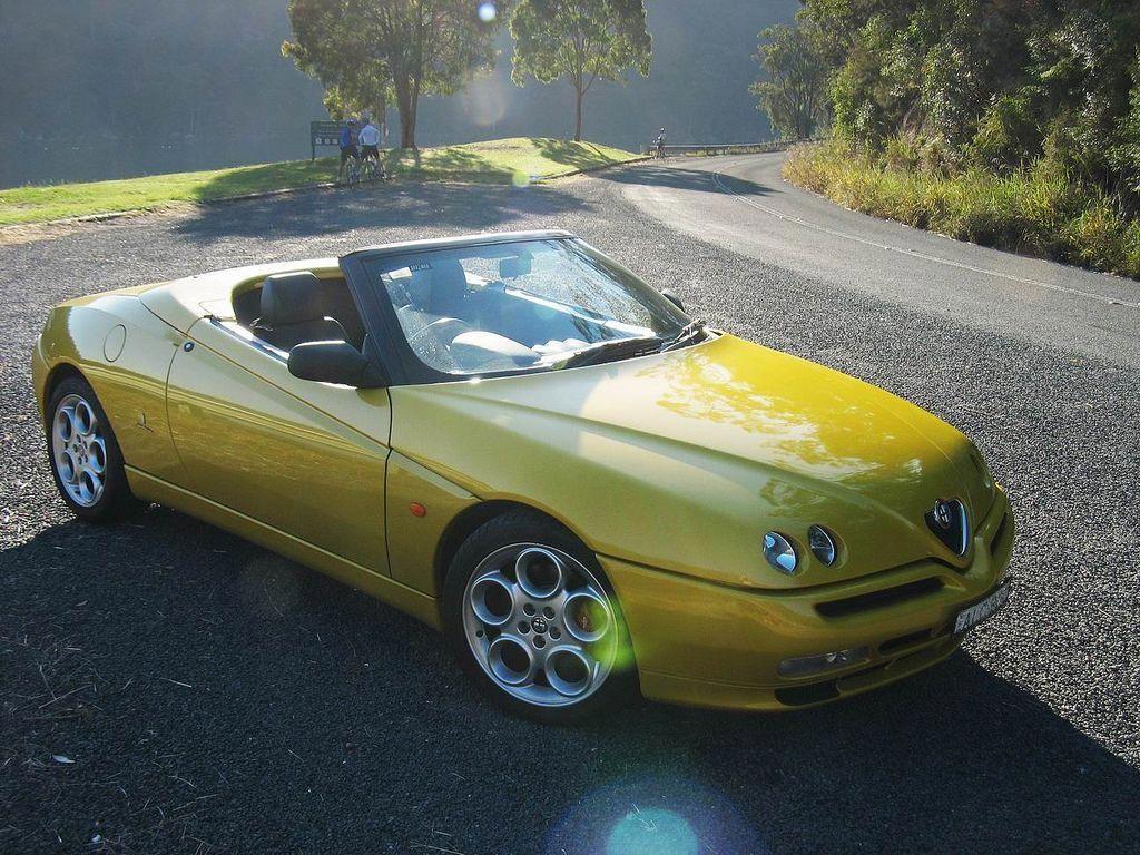 1995 2006 Alfa Romeo Spider Tipo 939 3 0 V6 Lajkinapinterest Alfa Romeo Spider Alfa Romeo Gtv Alfa Romeo Cars