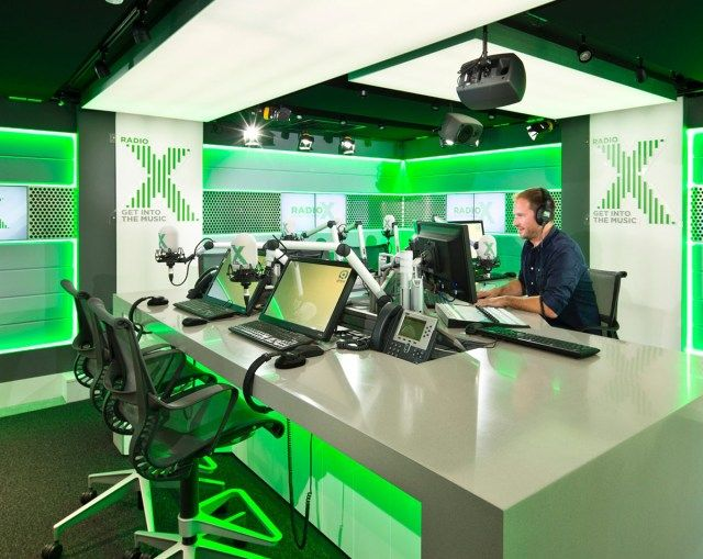 Completed   Electrical Installation   New Radio X National Broadcast Studio - Cerberus Systems