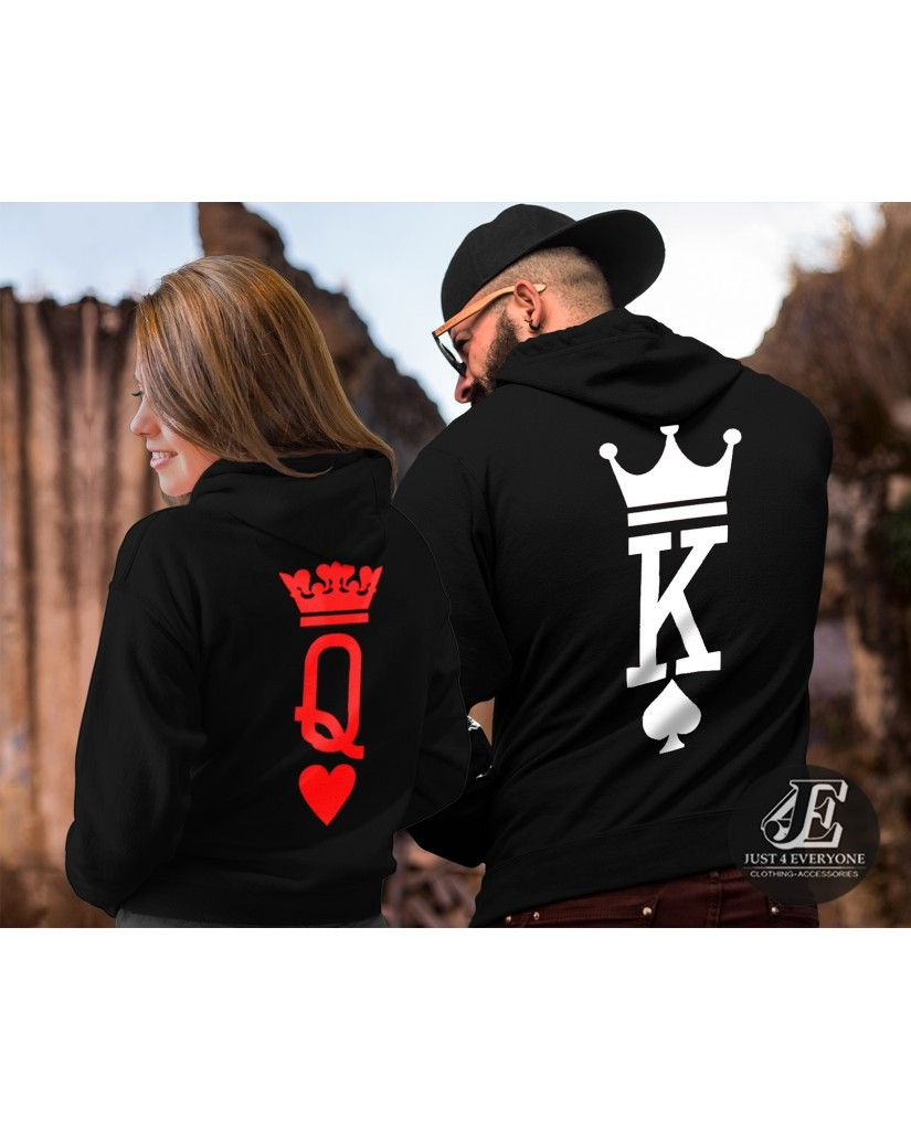 86f24f08 KING AND QUEEN COUPLE SETS, KING AND QUEEN HOODIES, COUPLES HOODIES, KING  QUEEN HOODIES, MATCHING HOODIES
