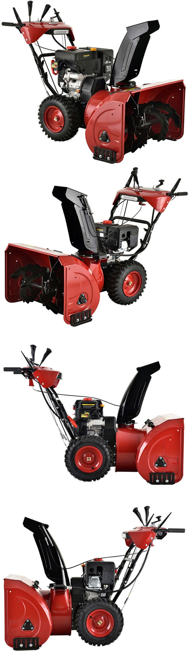 how to start a snowblower with electric start