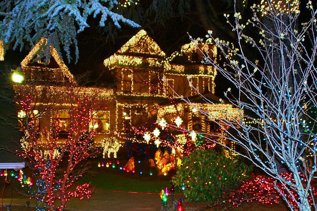 Christmas Vacation House Lights.House Of A Million Lights In Portland Oregon Christmas