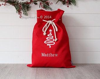 Extra Large Personalised Christmas Sack