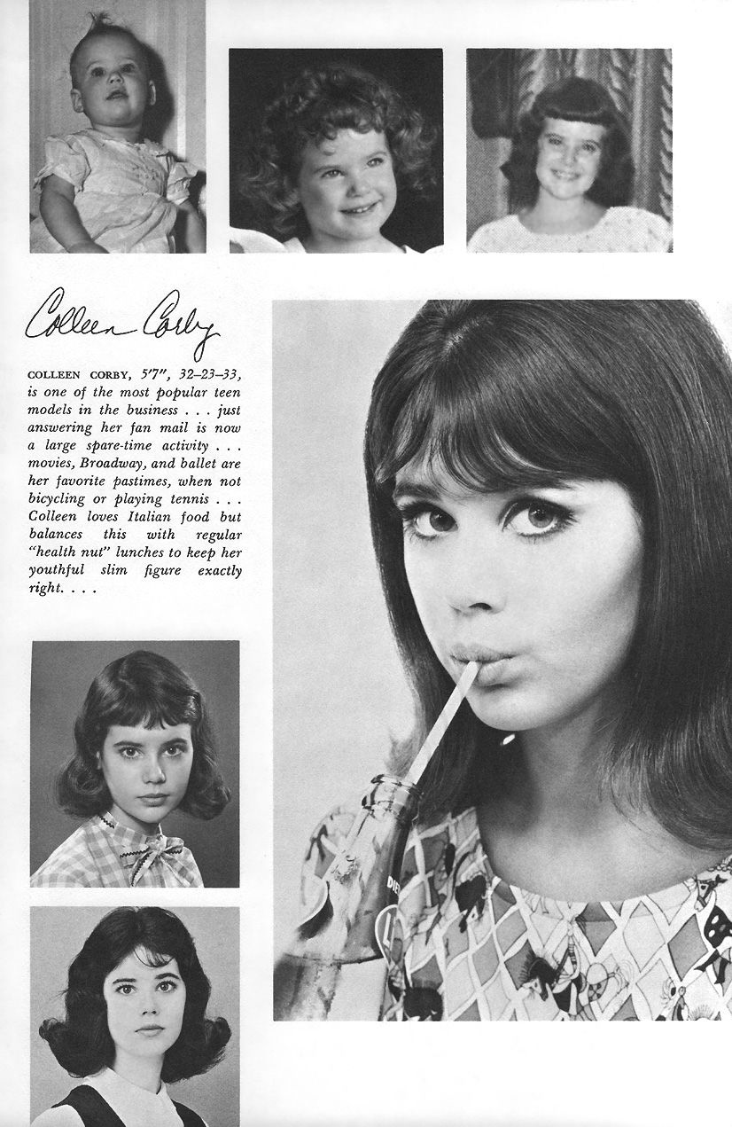 Eileen Ford S Book Of Model Beauty 1968 Colleen Corby Beauty