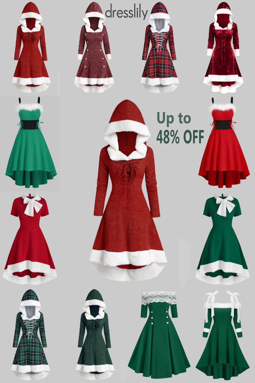 Long Sleeve Dresses | Casual Dresses | Winter Fashion Coats | Christmas Outfits | Vintage Dresses #casualchristmasoutfitsforwomen