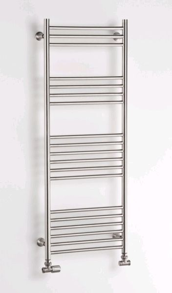 Nora Robuuste rvs badkamer radiatoren, strak design radiator zuiver ...