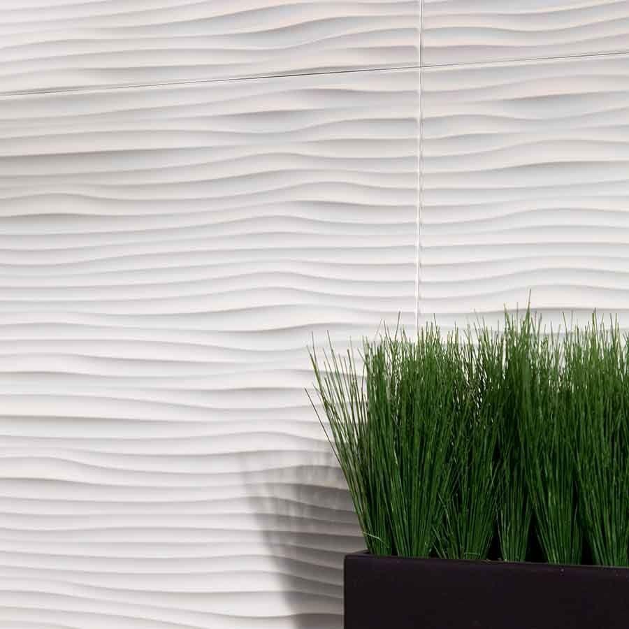 Show details for fasade backsplash waves in matte white for the show details for fasade backsplash waves in matte white dailygadgetfo Gallery