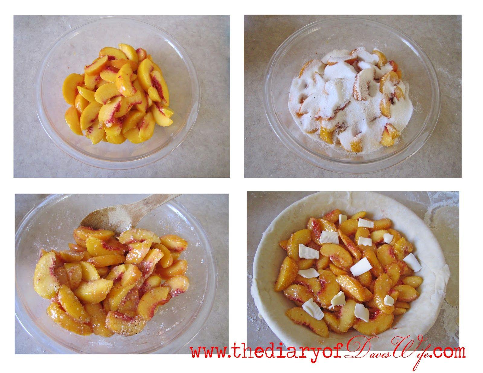 The BEST Fresh Peach Pie Recipe | The Diary of DavesWife