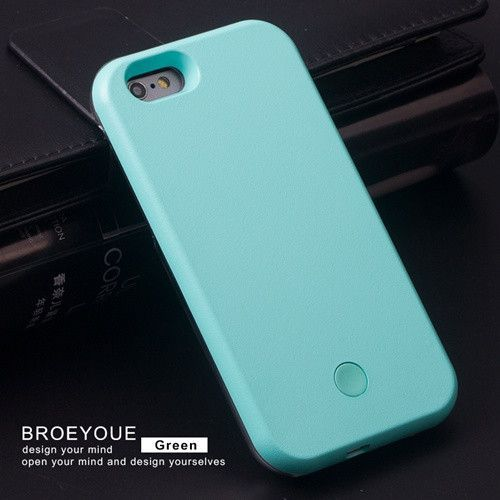 LED Light Phone Case for Apple iPhone 7 6 6S Plus 5 5S SESamsung Galaxy S5 S6 S7 Edge Plus Note 5
