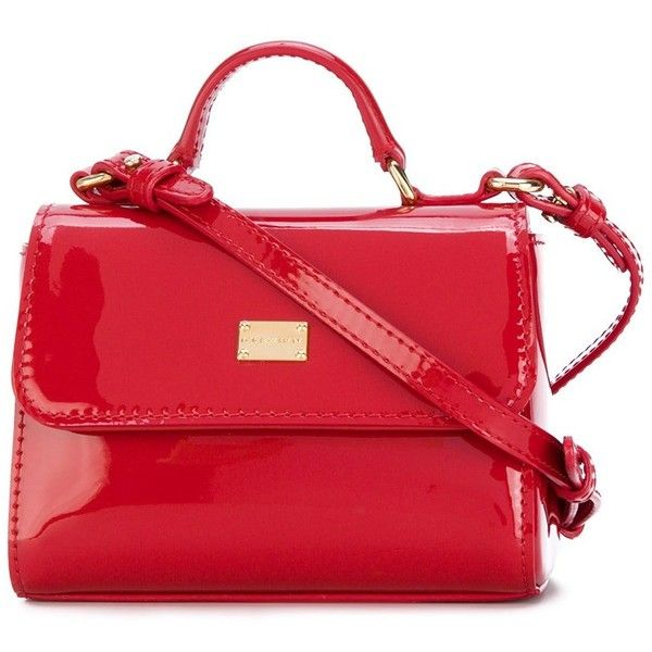 Dolce Gabbana Mini Miss Sicily Patent Leather Bag 435 Liked