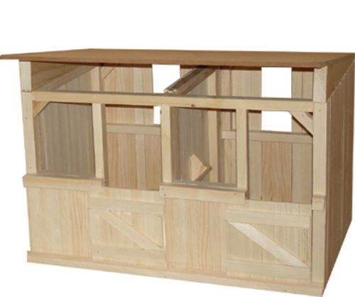 2 Stall Wooden Stable Barn Great For Breyer Horses Diy Horse Barn Barn Stables Stables