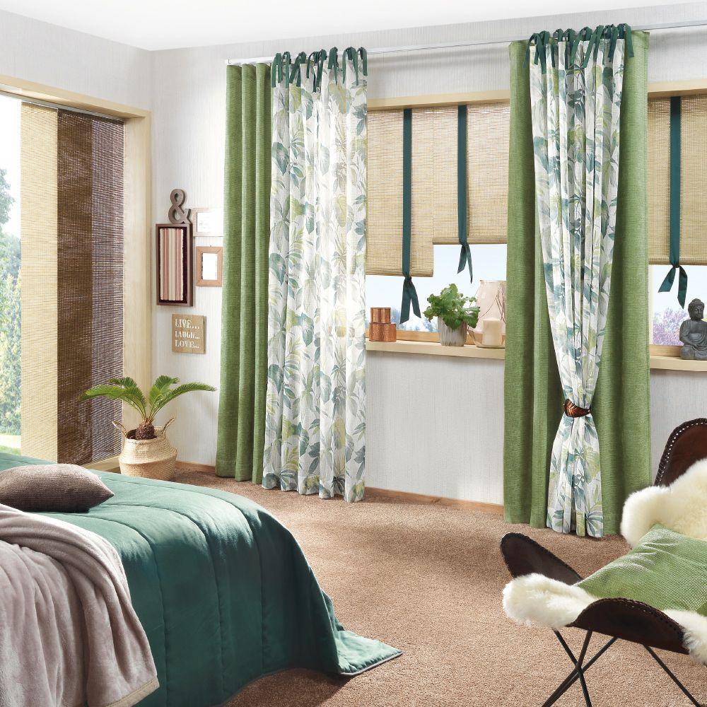Vorhang und Deko für Ihr Schlafzimmer Gardinen modern