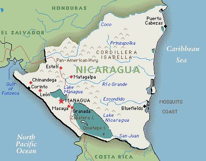 map of nicaragua Google Search geochic Pinterest Central