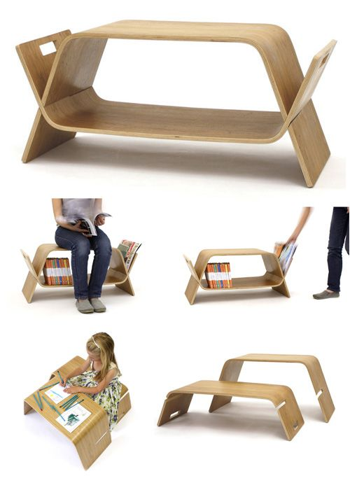 The Multi Functional Embrace Table By Offi
