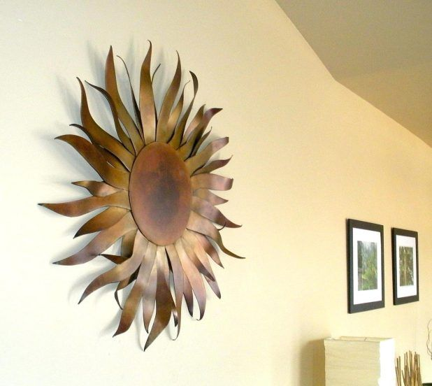Sun Metal Indooroutdoor Wall Art Metal Sun Sculpture Wall Art ...