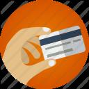 Buy online. Credit card.  Tarjeta de crédito.