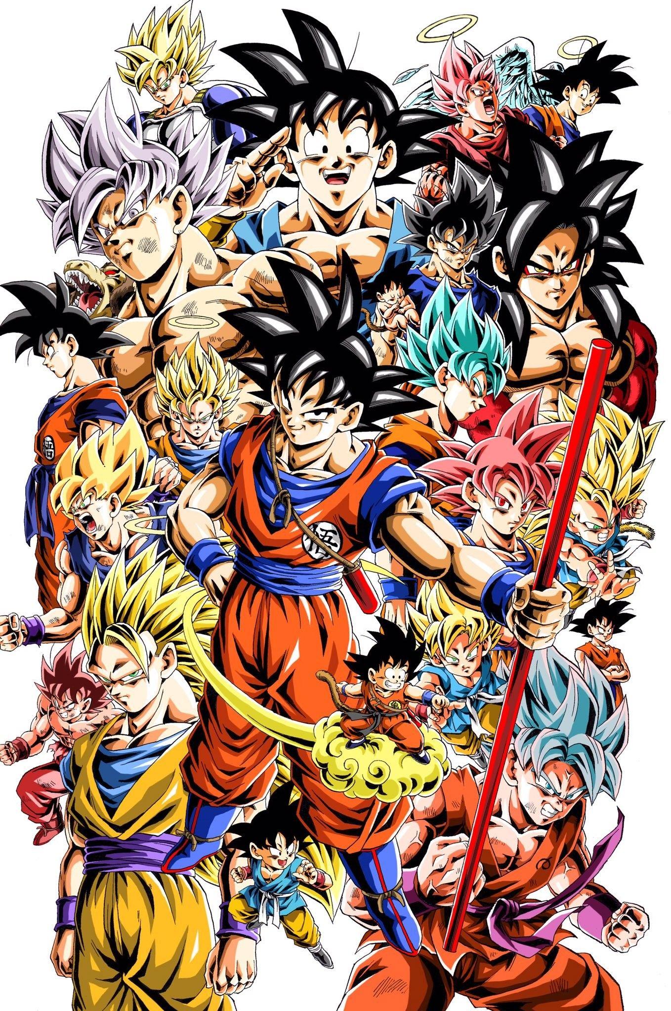 The Story Of Warrior Goku Base Dragon Ball Goku Dragon Ball Wallpaper Iphone Goku Wallpaper