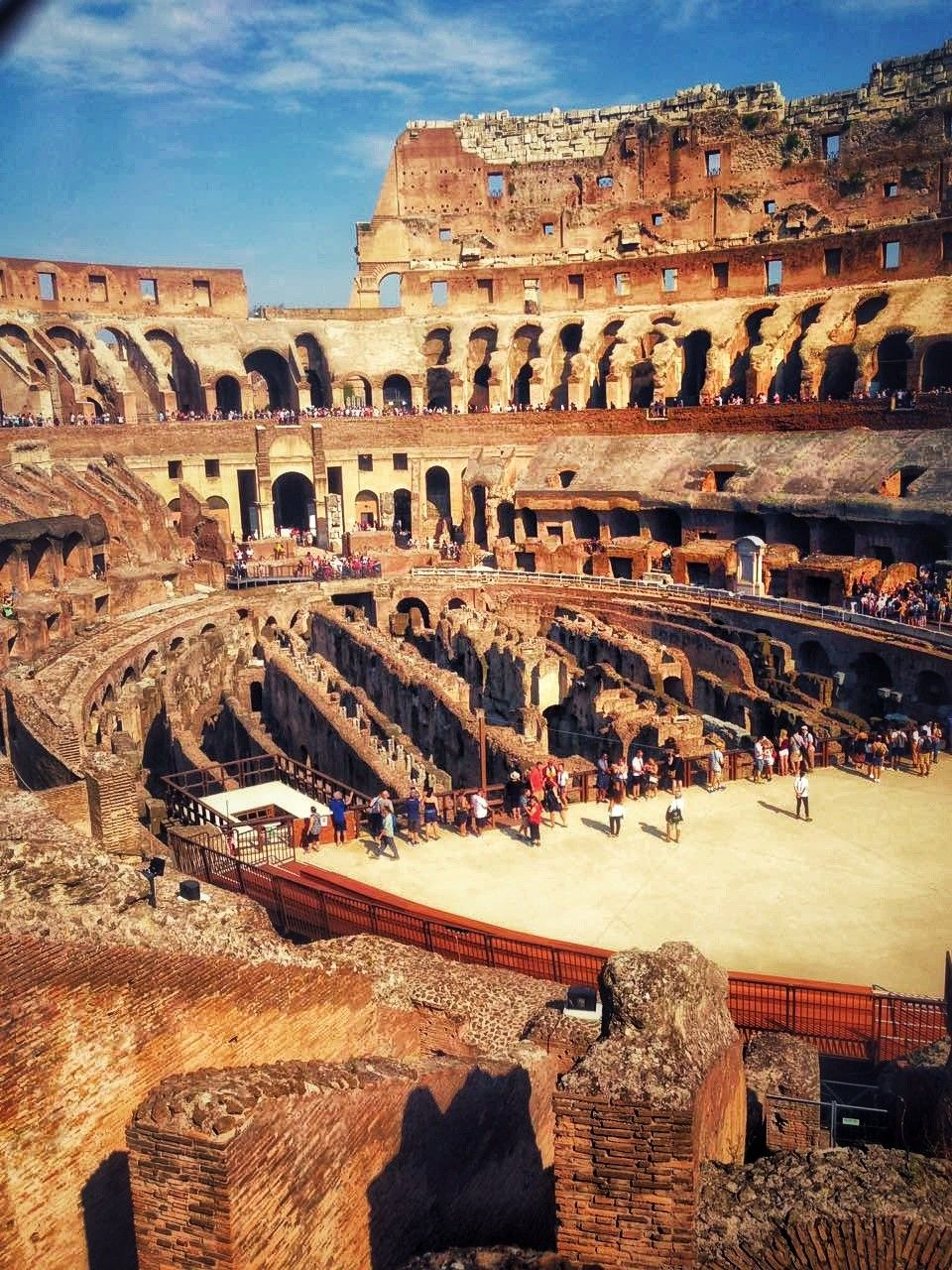 Inside Colosseum Rom Reiseideen Reisen