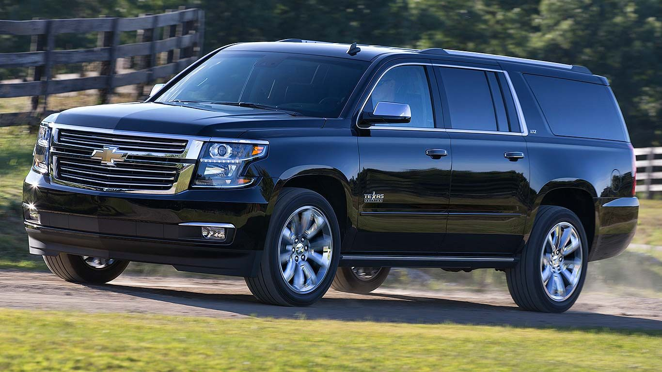 The 10 Best Cars For A 2015 Road Trip Chevrolet Suburban Chevy