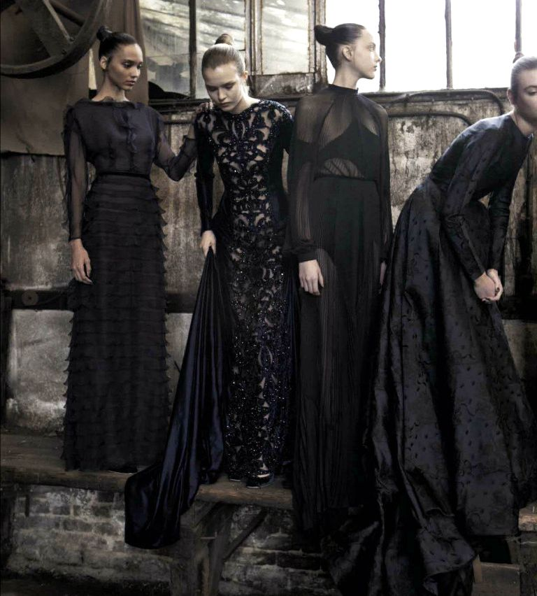 Valentino by Deborah Turbeville for Vogue Italia September 2012
