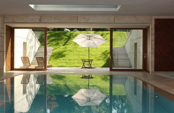 Taxusweg : Moderne Pools von Andreas Edye Architekten