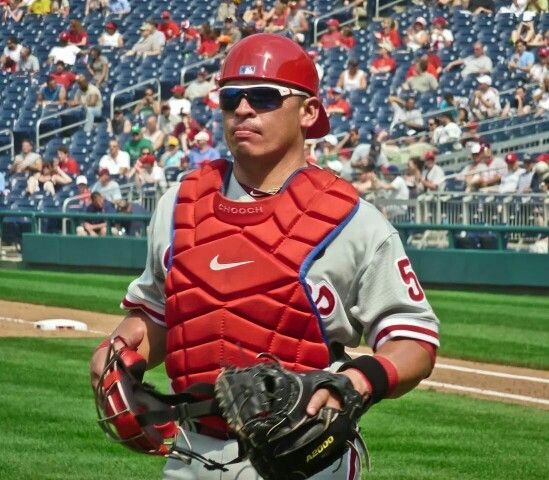9-1-14 ~ Carlos Ruiz has caught more no hitters (3) than any catcher in NL history!