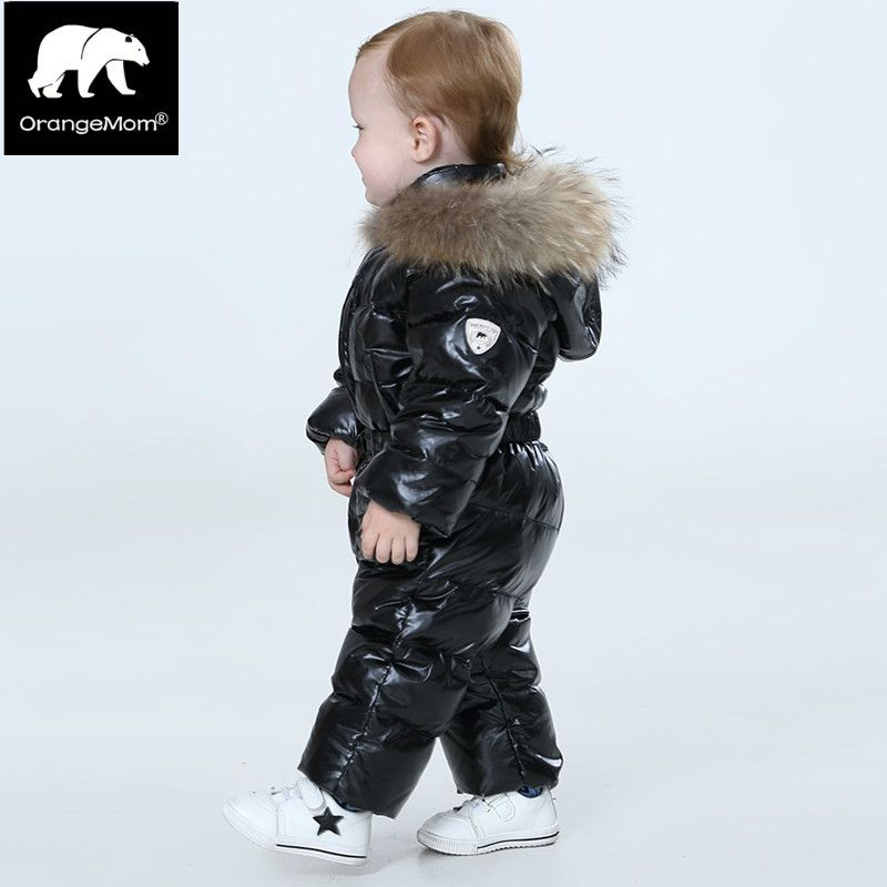 Fashion 2017 winter coat for girls  warm Winter down jacket for girls coats waterproof children's clothing kids parka snow wear