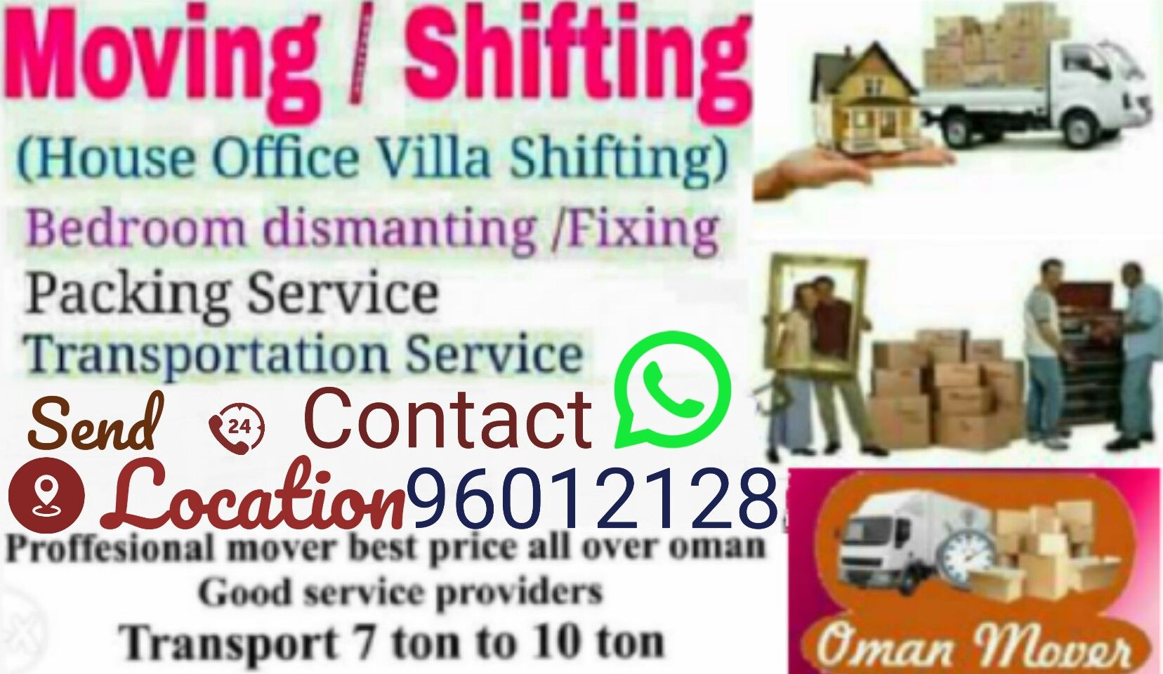 Expert carpentor and packers available for home shiftting