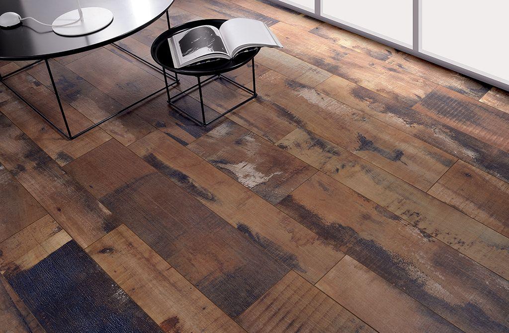 Rustic Look Decor With Wood Floor Tile Yonohomedesign Com In