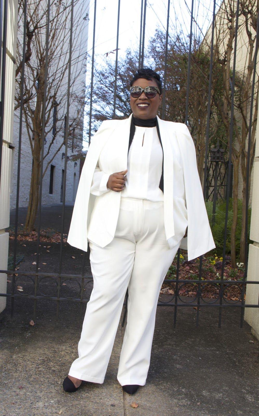 Cape  (C/O), Shirt , Pants  - Eloquii, Sunglasses- Celine , Shoes- Similar