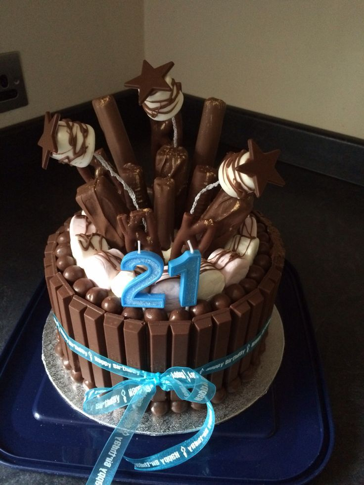 Image Result For Pictures 2ist Birthday Cake Boy
