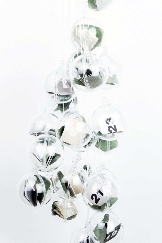 DIY Adventskalender selber basteln - minimalistisch (inkl. Vorlage ...