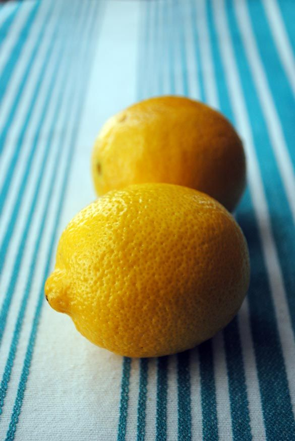 Fresh Lemons Provide Great Flavor So You Can Lose the Salt!