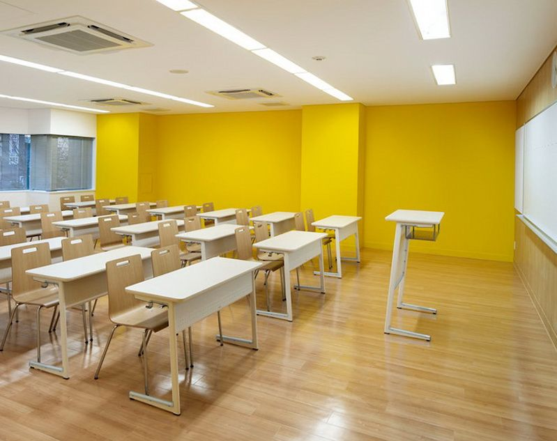 Colourful School In Japan Interior Design Colleges Interior Design School Interior Design Classes