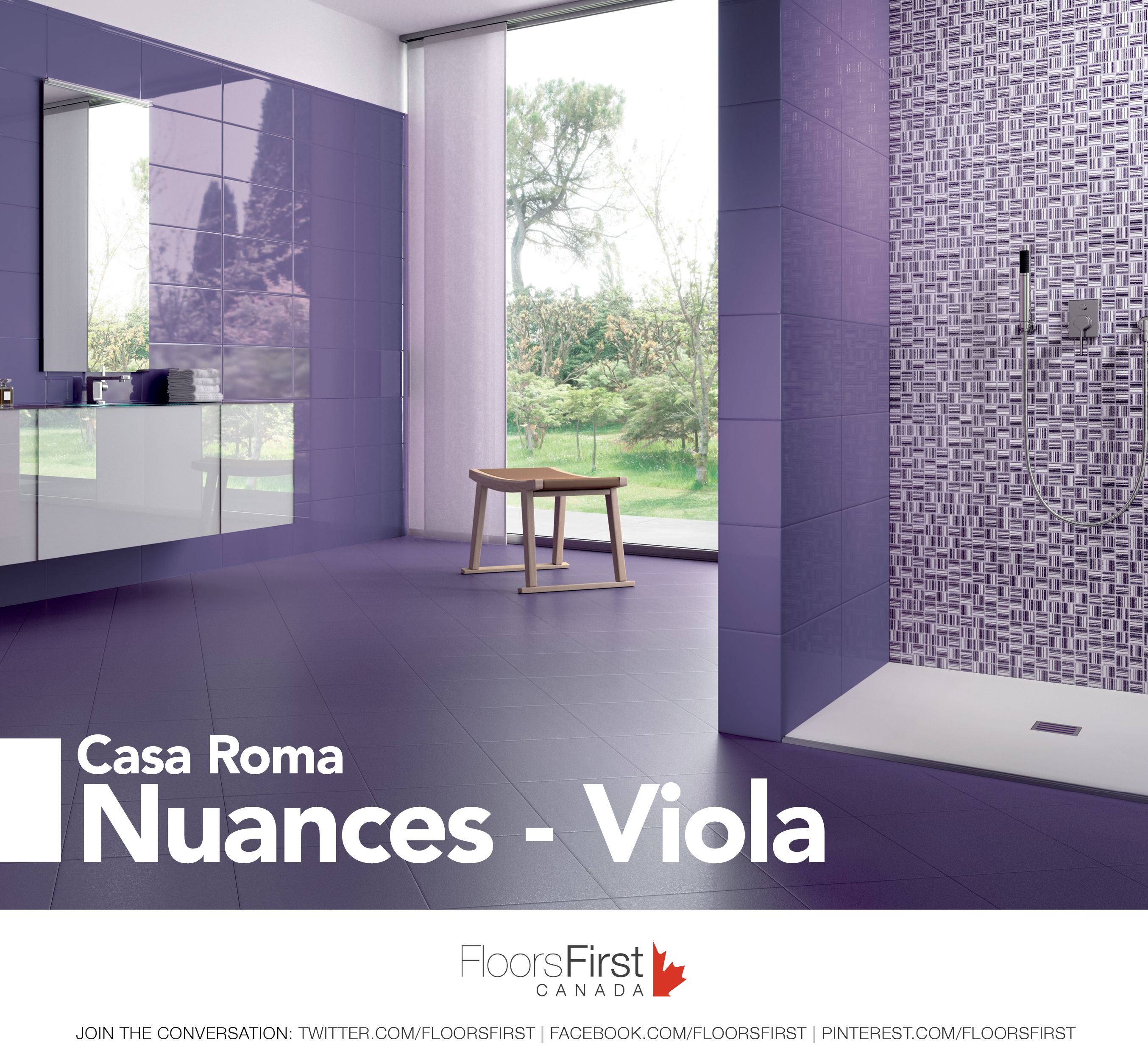 Some purple in your life flooring ceramic tiles design flooring ceramic tiles design dailygadgetfo Image collections