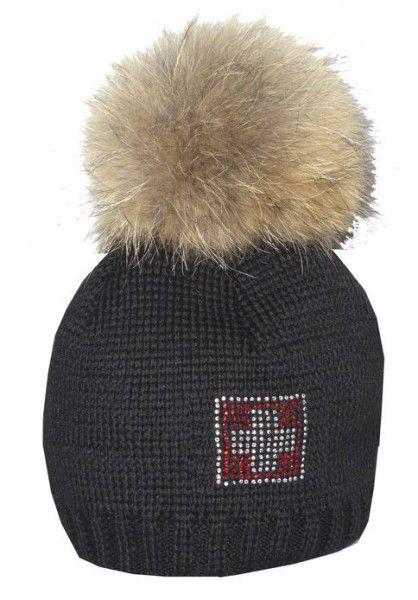 Winter Strickmütze Beanie ROCK Stickerei Wintermütze Mütze