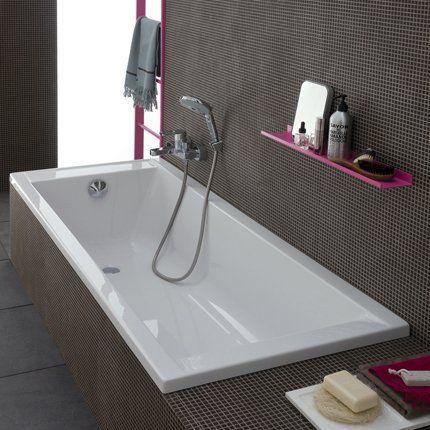 t te de lit rive droite baignoire encastr e baignoires et acryliques. Black Bedroom Furniture Sets. Home Design Ideas