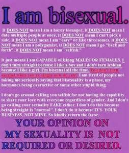 Does bisexuality exist yahoo