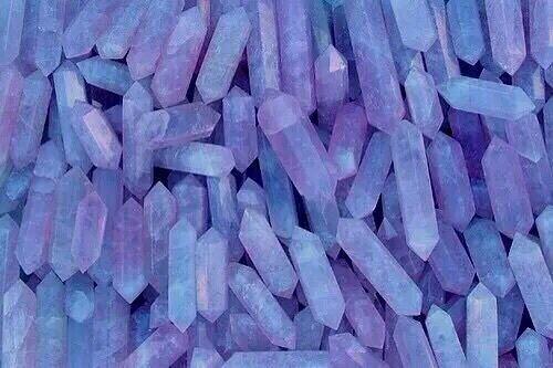 Blue Crystal Crystals Iphone Wallpaper Favim Com 3572432 Jpg 500 333 Pastel Aesthetic Rainbow Aesthetic Magic Aesthetic