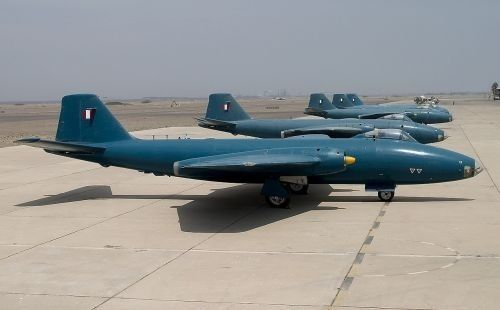 English Electric Canberra Ex-SAAF Canberras on-sold to the Peruvian Air Force