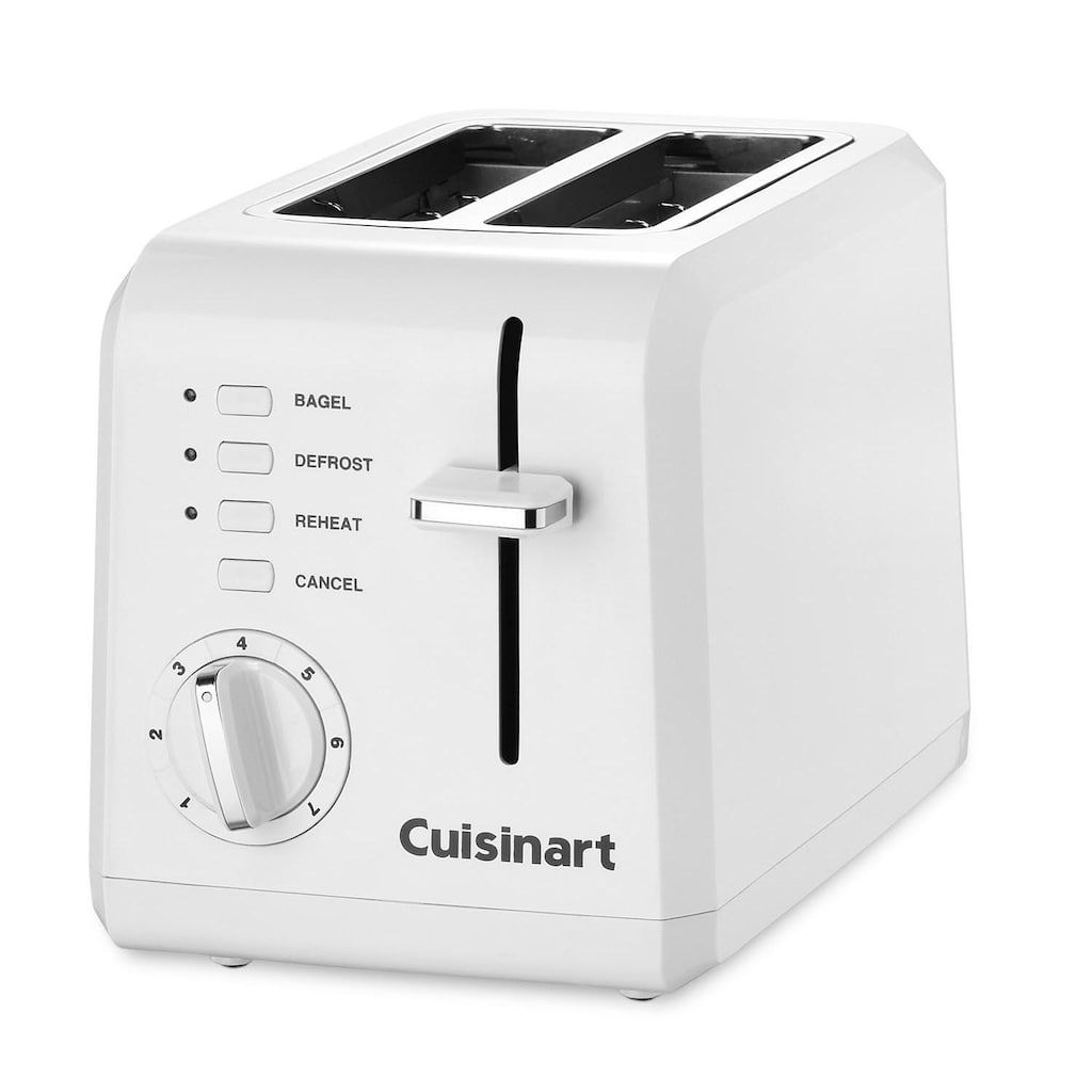 Cuisinart Compact 2 Slice Toaster Toaster White Toaster Electric Toaster
